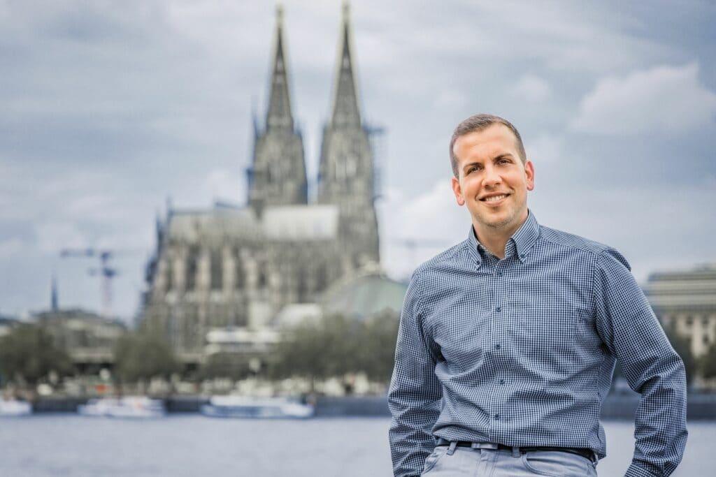 Transformationsexperte Daniel Pullem in Köln